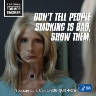 good advertising marketing to millennials cdc stop smoking