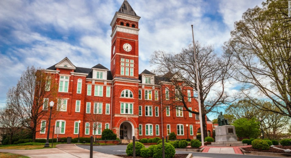 tillman hall clemson university tigers SC business sparks research upstate internship marketing professor