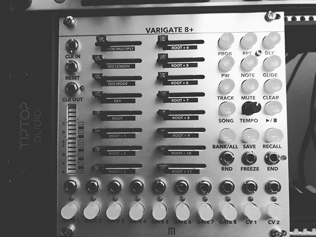 New #varigate8 just arrived.  Will be a fun weekend. #malekkoheavyindustry . . #techno #eurorack #eurorackmodular #electronicmusic