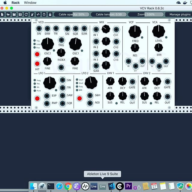 Finally got the GUI done for #vcvrack #vcvrackplugins .  This took way too long.  Now I get to actually add #code and get this thing working.  #wavetable #synthesis on its way. . . #adobeillustrator is definitely NOT my #jam 😉. . . #eurorack #synthesizer #electricalengineering #softwaredevloper
