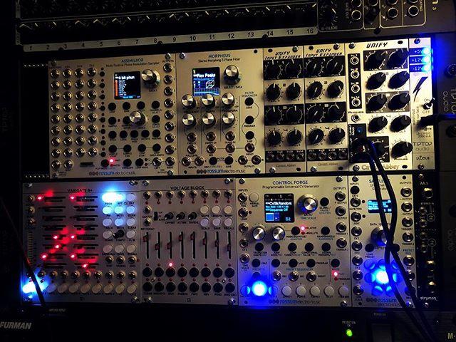 New modules finally in place.  #rossumelectromusic #malekkoheavyindustry #circuitabbey #varigate8 #voltageblock . . I am liking #eurorack #presets . . #electronicmusic