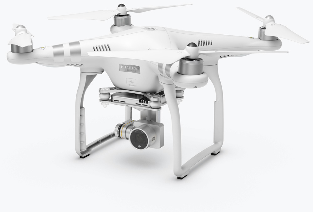 Meet our Phantom 3 Advanced by DJI