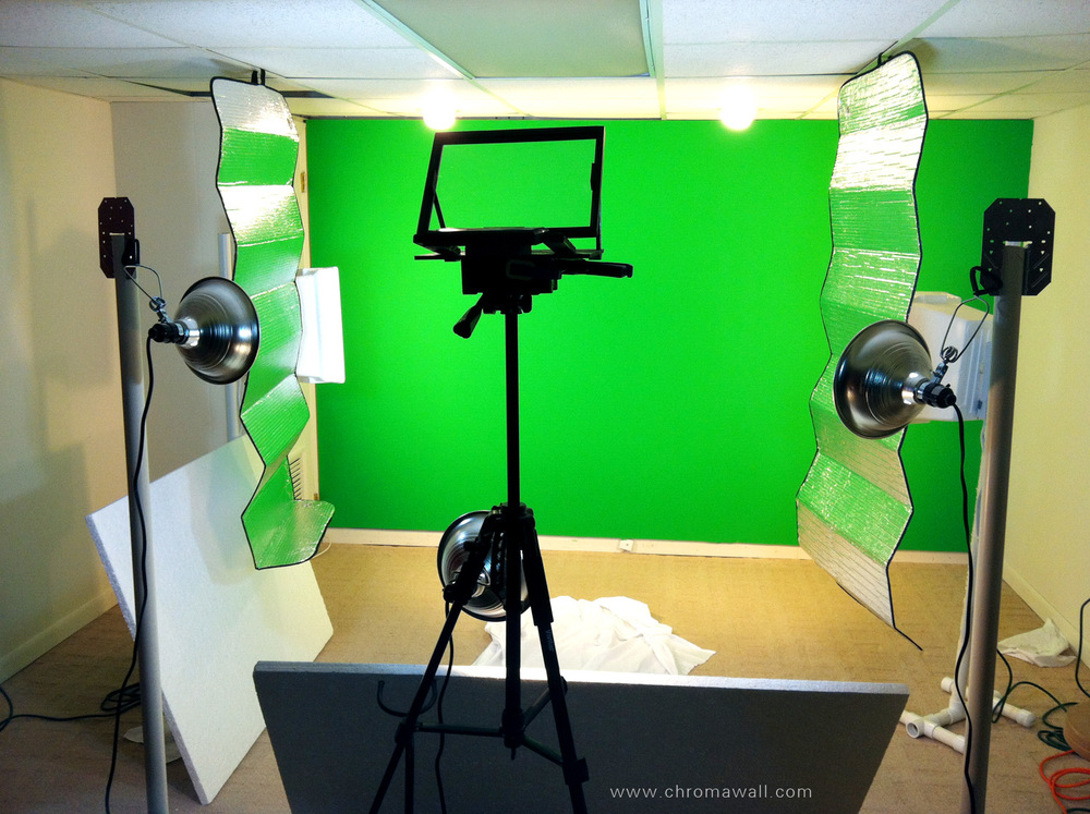 DIY Green Screen Studio