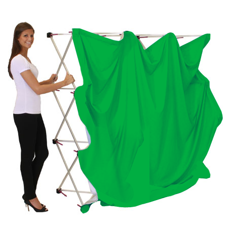 collapsible green screen kit