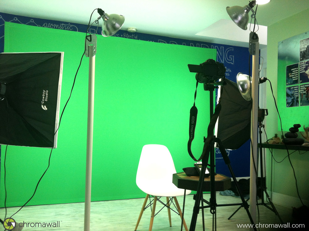 chroma wall green screen kit