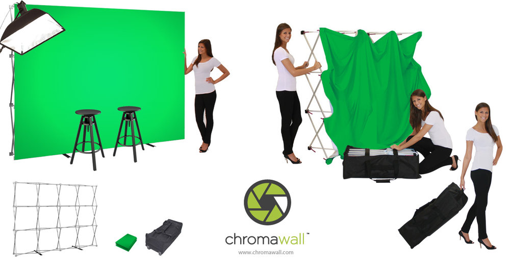 best portable green screen kit