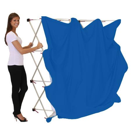 portable blue screen backdrop