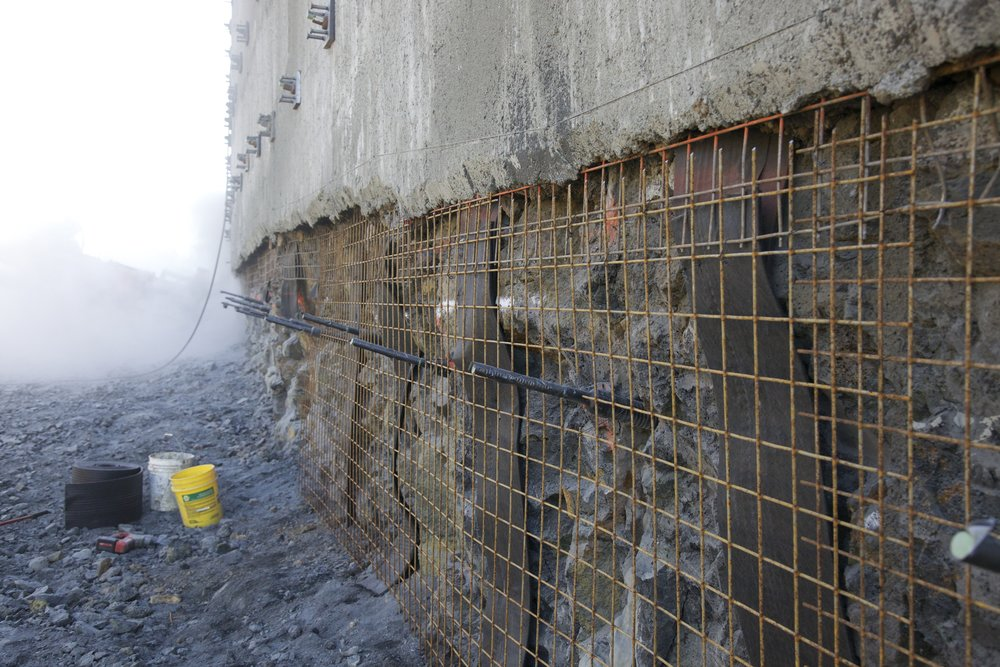 Retaining Walls Excavation Shoring Northwest Soil