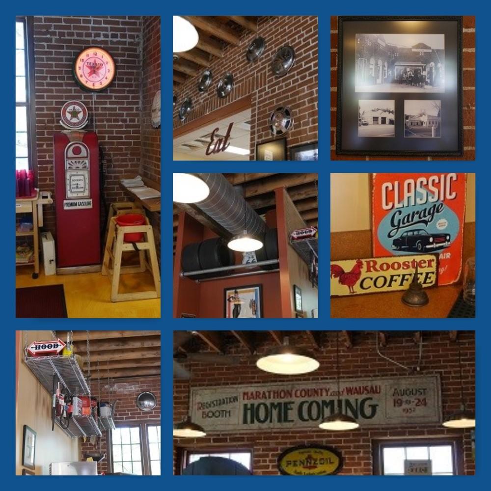Nostalgic decor at The Filling Station