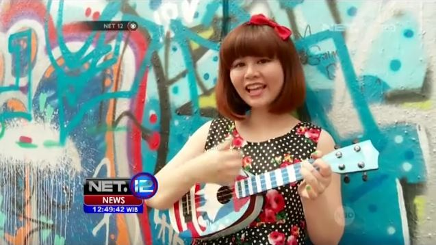 I was playing ukulele on some national news program called NET 12 (July 2016). The news crew didn't realize I have scoliosis until they saw my hump :D