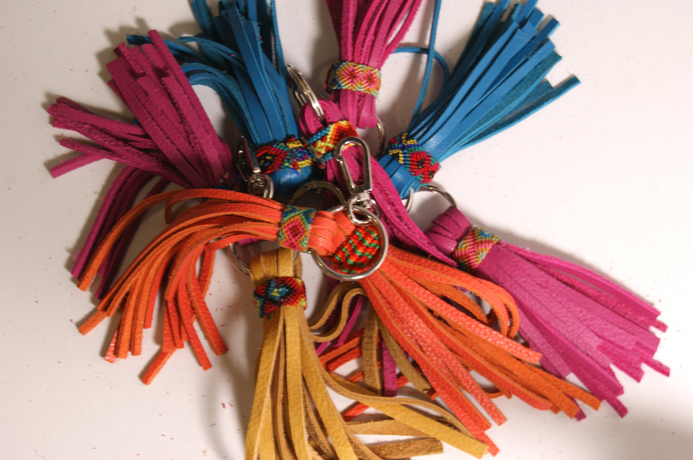 diy friendship tassels