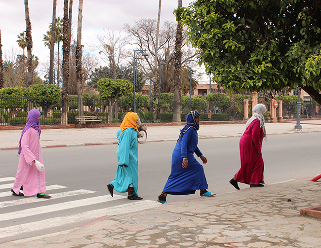 Colorful Moroccan Women