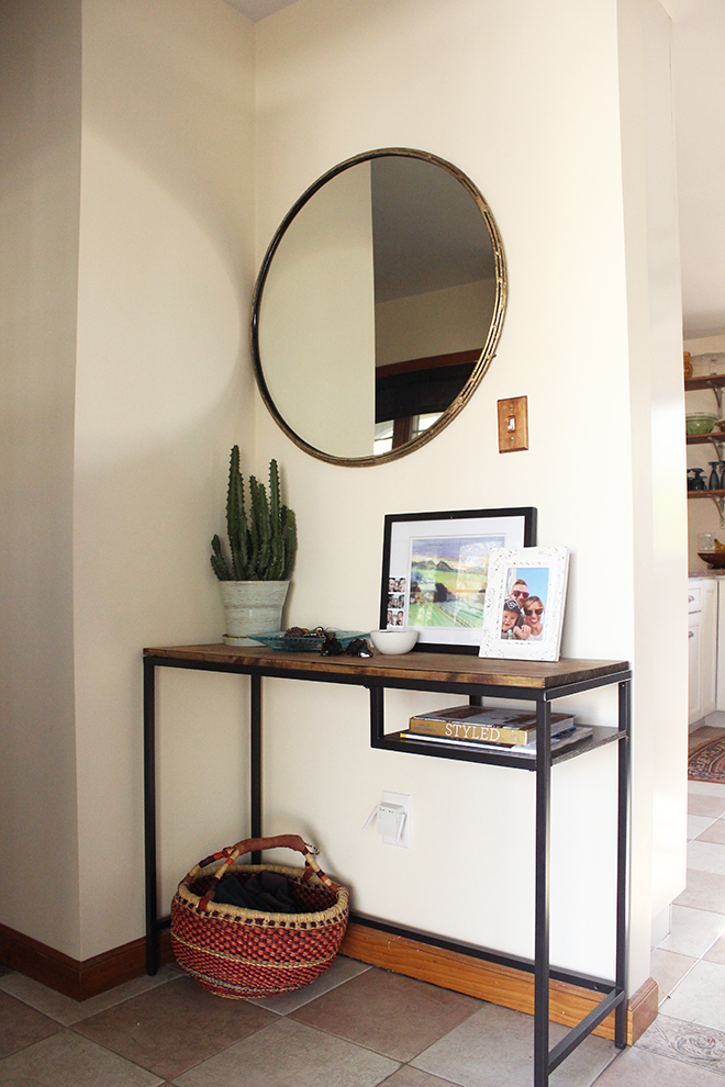 Ikea Hack Entry Table