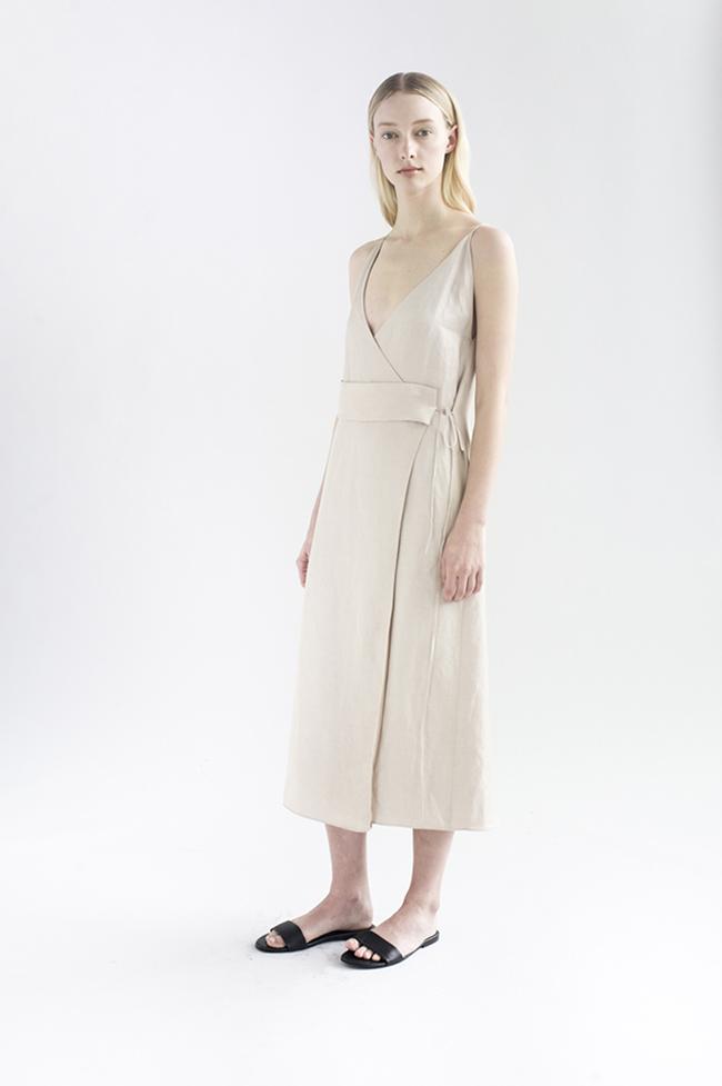 De Smet Wrap Dress
