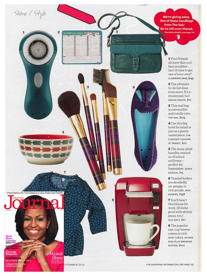 Ladies Home Journal September 2012 TS Silverlake Clutch in Deep Teal.jpeg
