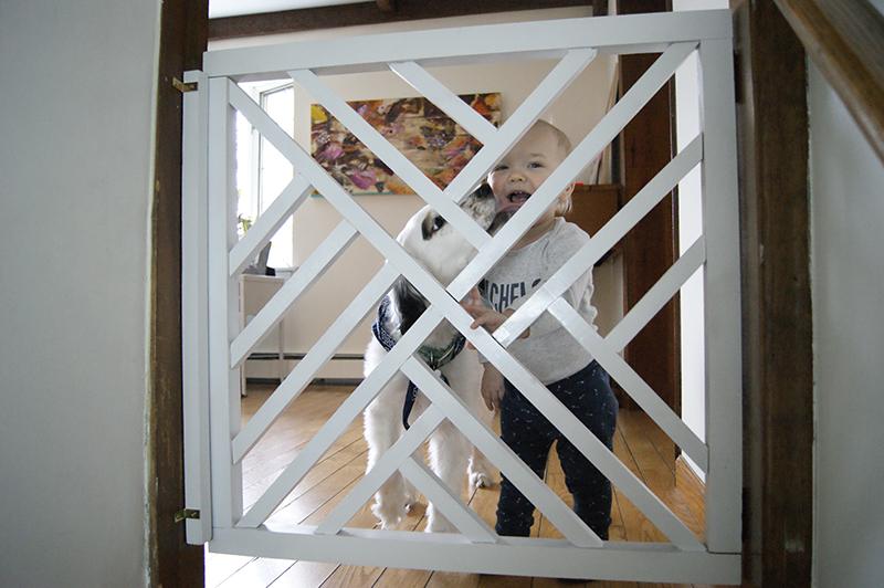 Geometric Baby Gate