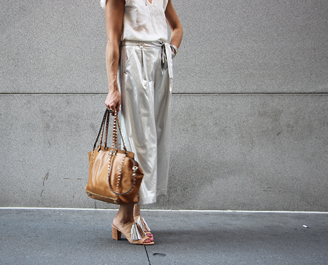 Metallic Pants / Loffler Randall shoes