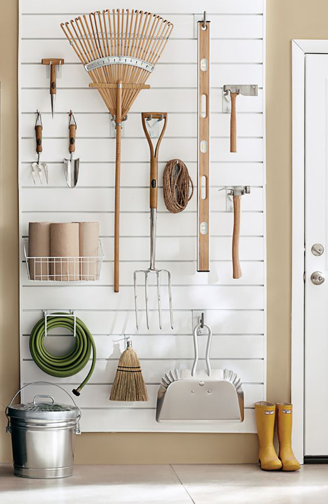 One Room Challenge Garage storage Inspiration