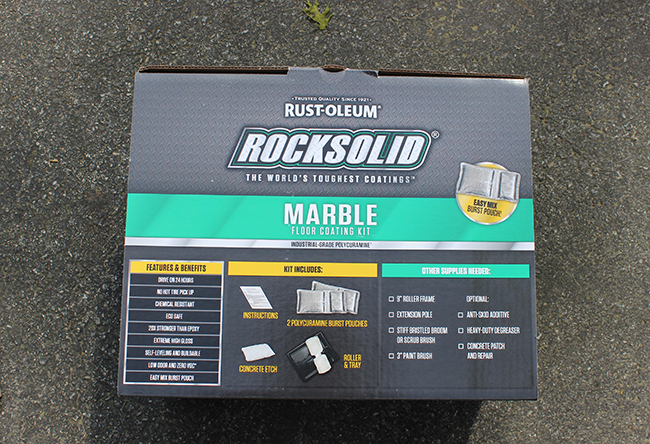 Rust-oleum Rocksolid Floor Coating Kit