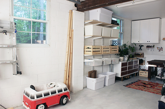 One Room Challenge Garage Makeover