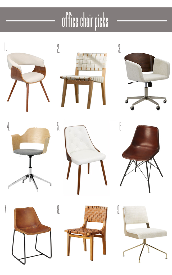 Desk Chair Options