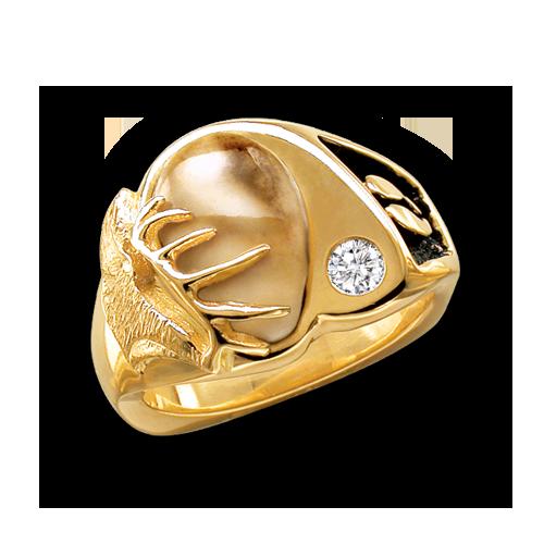 Regal Imperial — Elk Ivory by Jensen Ringmakers