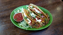 Tuesday is taco night: Order a mug of beer or 16oz rail drink and get 3 free hard shell beef or veggie tacos. For drinks: Birthday night/ Karaoke night (bring in 5 or more 21+ friends your birthday week - you drink for free!) 9p.m. - close $3 tier 1 mugs, $4 tier 2 mugs, $4 long islands Live DJ!