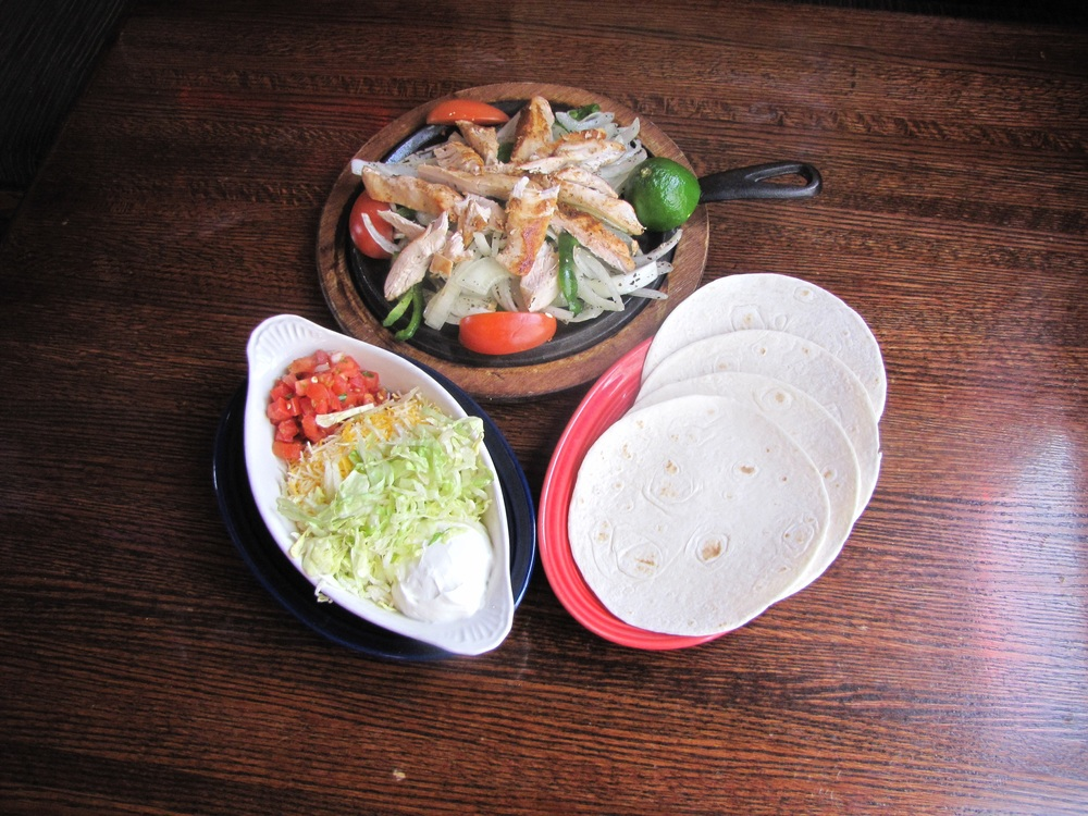 Friday is sizzling fajita platter night: Free sizzling fajita platter with any regular priced pitcher of beer or margaritas For drinks:   F.A.C.  (Friday After class)  2-6 p.m.  $1.50  beers $2.00 rails $2.50 margaritas 9 p.m. - close $3 tier 1 beers $3 rail drinks $4 tier 2 beers