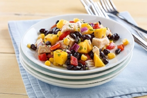 30 Day Salad Challenge: Heart Healthy Chicken, Mango and Black Bean Salad by Cheri Tillman, Total Wellness Resource Center, California.