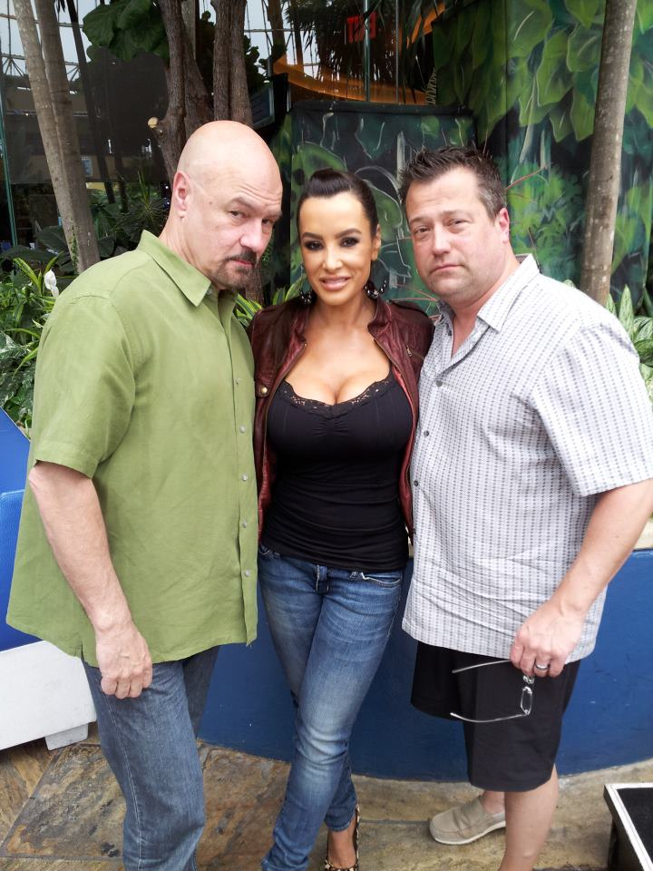 Lisa Ann Seen Here With Tony Bruno And Harry Mayes From A 2013 Interview On 975thefanatic