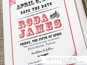 roda + james . tag & company save the date