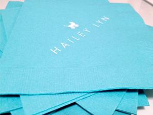 hailey lyn cocktail napkins