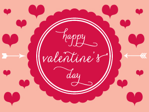 valentines, houston wedding stationery, carolyna font