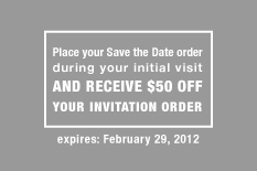 Invitation Solutions - wedding stationery special