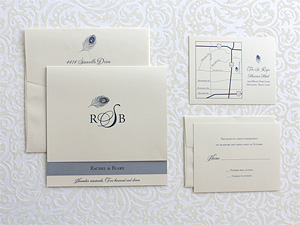 Invitation Solutions - Swarovski rhinestone accents