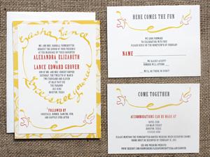 Invitation Solutions - themed wedding invitations