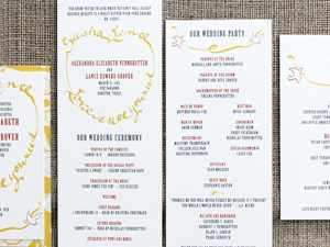 Invitation Solutions - themed wedding invitations