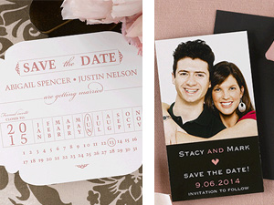 Invitation Solutions - save the dates