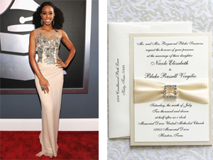 Invitation Solutions - 2012 Grammy Awards style