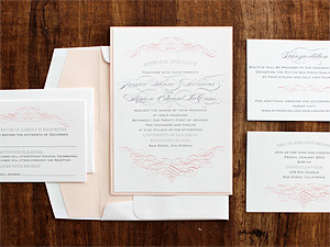 Invitation Solutions - wedding envelope liners