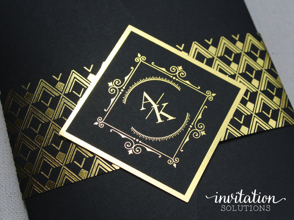 Allie kyle invitation solutions goldfoilinvitation stopboris Gallery