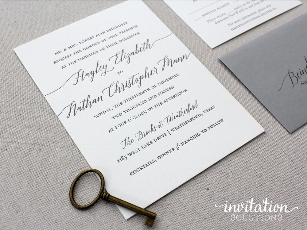 Haley nathan invitation solutions calligraphyinvitationg stopboris Gallery