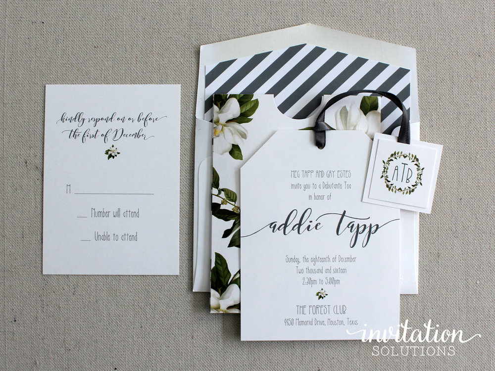 Addie tapp debutante tea invitation solutions addie tapp debutante tea stopboris Gallery