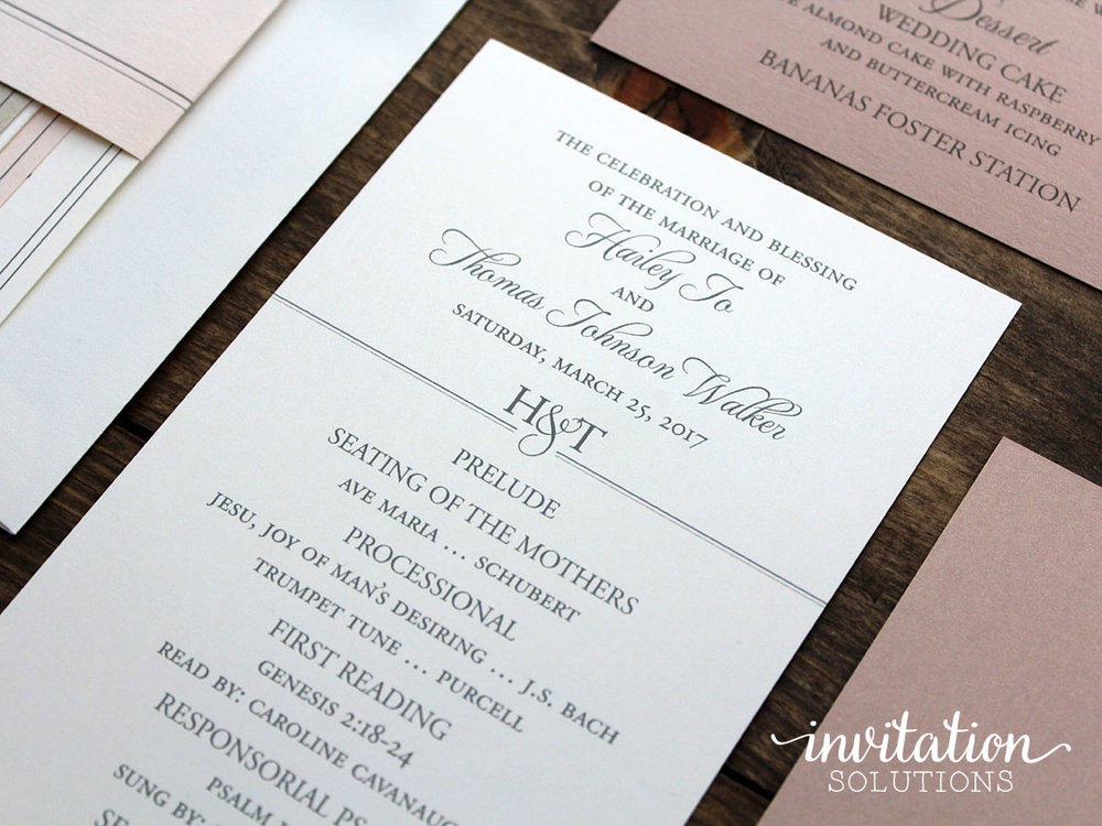 Hailey thomas invitation solutions weddingdayprogramg stopboris Gallery