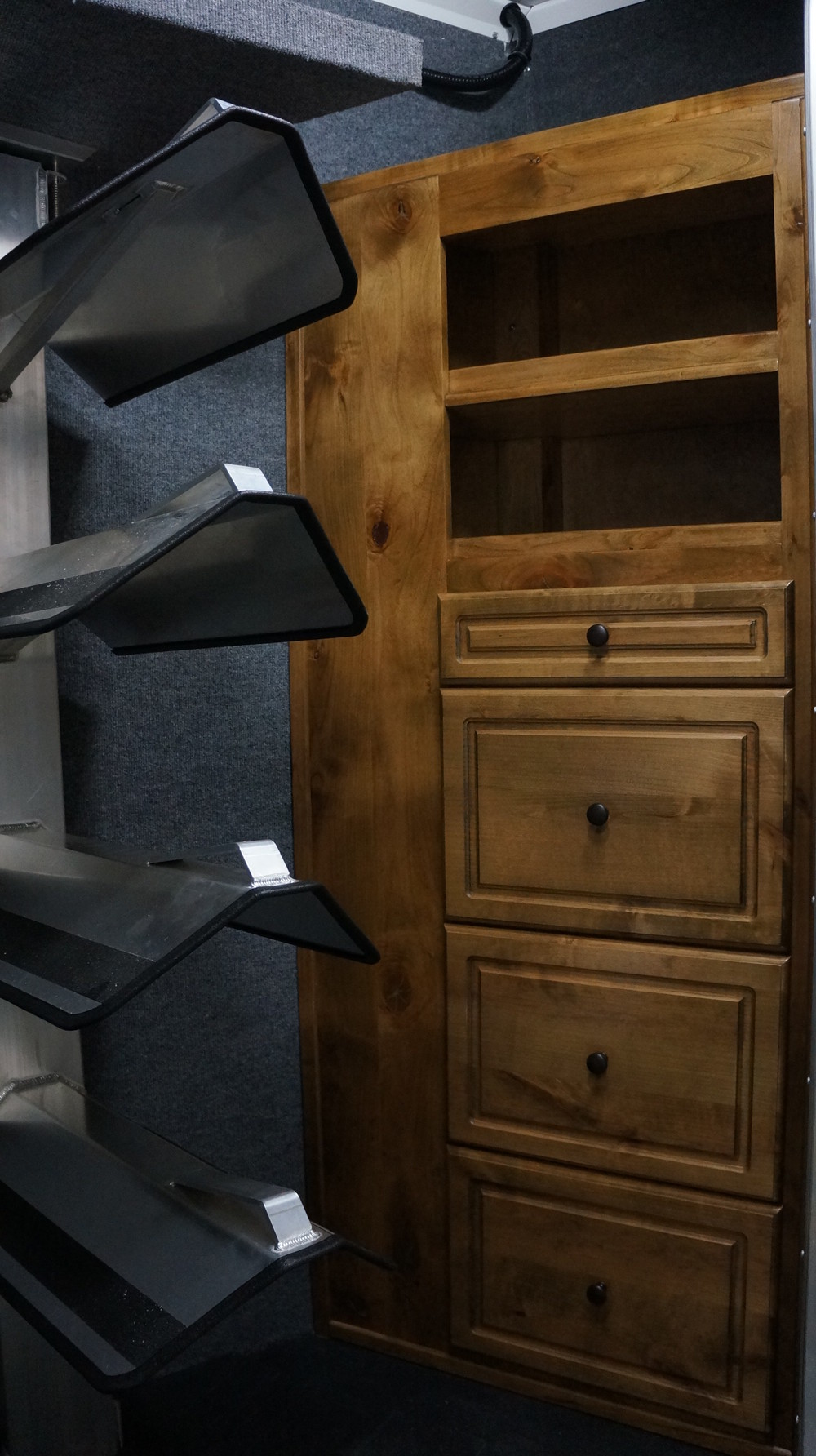 Rear Tack Cabinets
