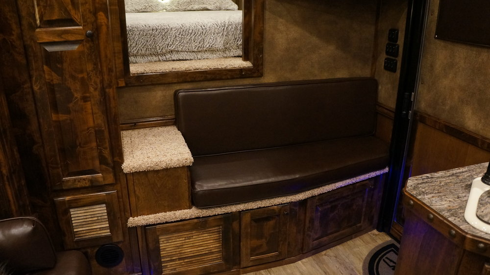 Bench Seat with Cushion & Back