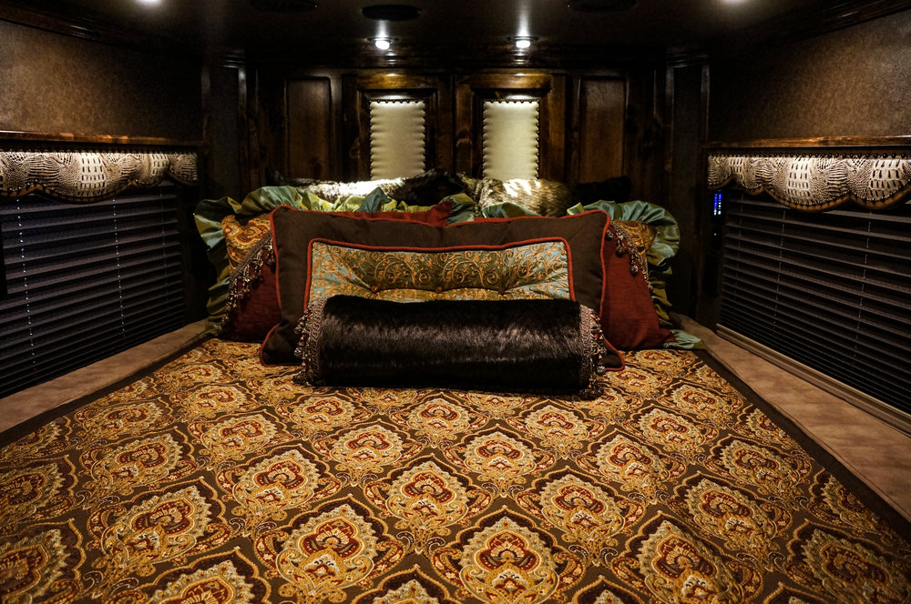 Custom Comforter Set and Custom Side Cushions