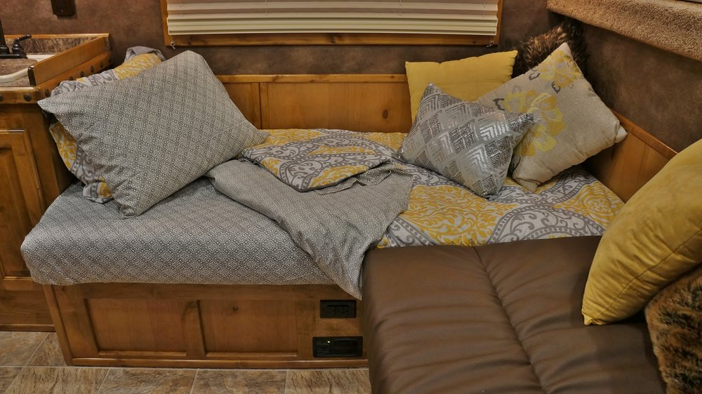 L Wrap Seating Bed