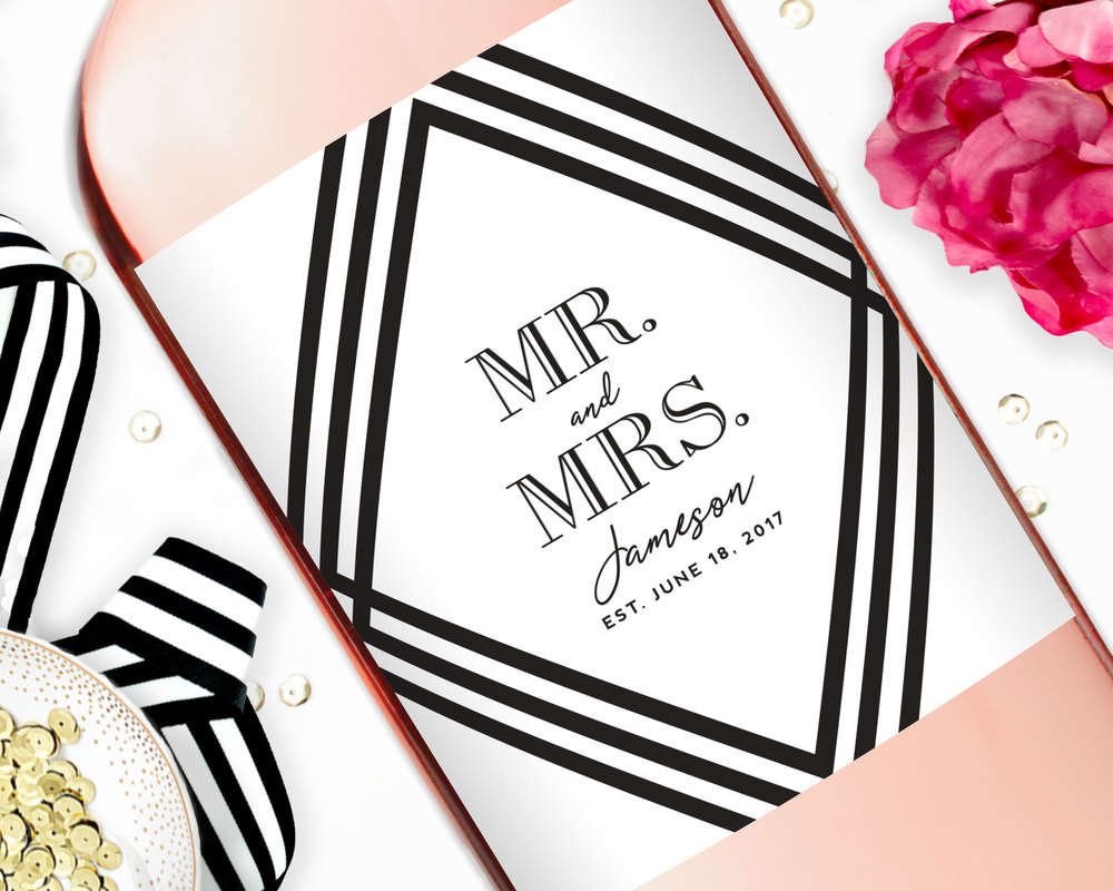 Wedding Wine Labels, Wedding Favors — STUDIO B LABELS