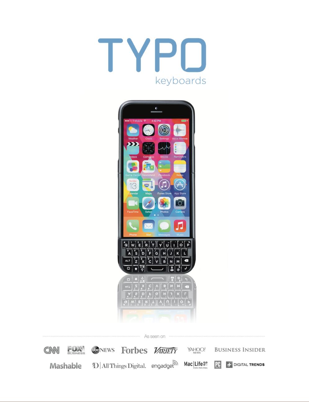 TYPO Sales Deck